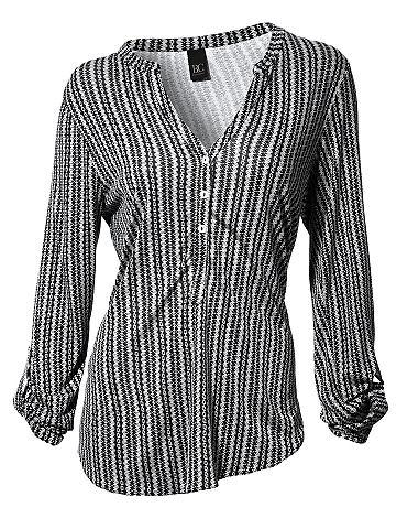 HEINE CASUAL блузка-футболка с пуговицы