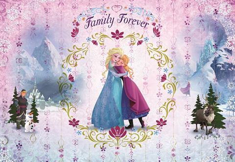 Обои бумажные »Frozen Family For...