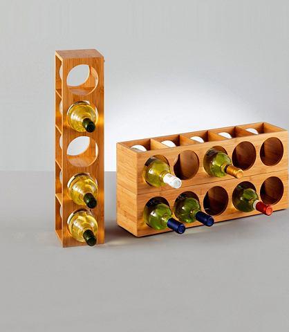 ZELLER Полки для вина »Bamboo«