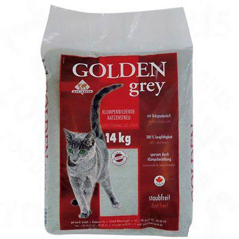 Katzenstreu »Golden Grey ( 14 Kg...