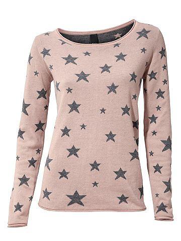 Пуловер с круглым вырезом с Sternen