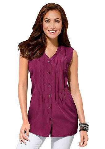 Блуза с декоративный кант в спереди