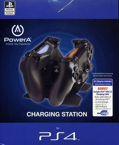 Power A Double Charger Ladestation