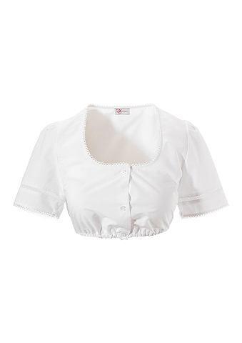 Блузка из национального костюма с сдер...