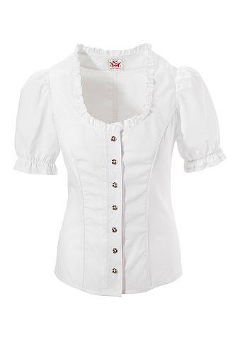 Блузка из национального костюма с круж...