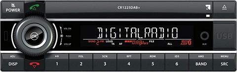AXION Автомобильное радио »CR 1225 DAB...