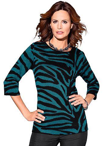 Пуловер с 3/4 длина рукава