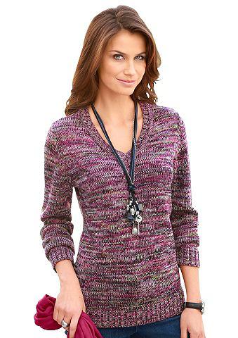 Пуловер в farbenfroher Melange-Optik