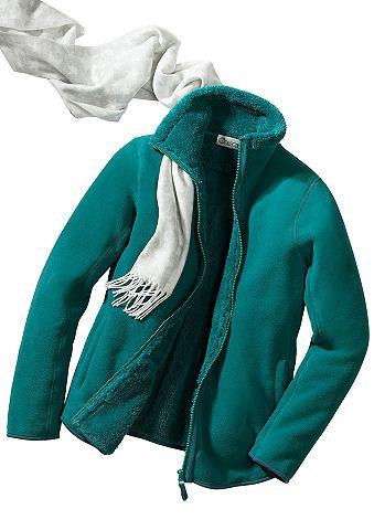 Флисовая куртка с flauschig мягкий Fut...