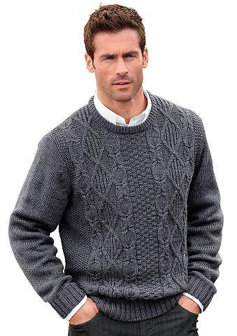 Пуловер с markantem Stukturmuster