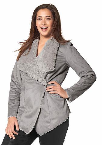 Куртка из искусственной кожи