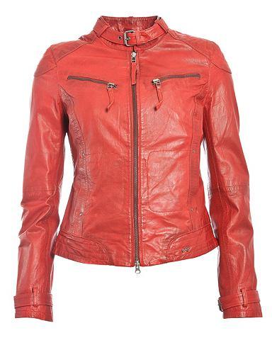 Куртка кожаная для женсщин