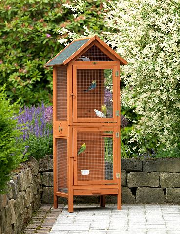 Вольер для птиц B/T/H: 62/58/160 cm