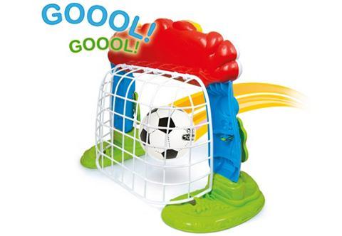 Футбольные ворота с Ball и Lernfunktio...