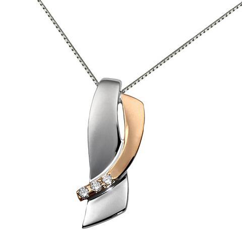 Ожерелье Weiss и красный Gold 585 Bico...