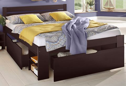Кровать с ящиком для хранения »H...