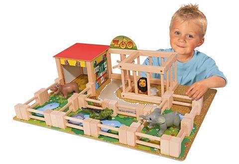 Набор игрушек из дерево »Tiergar...