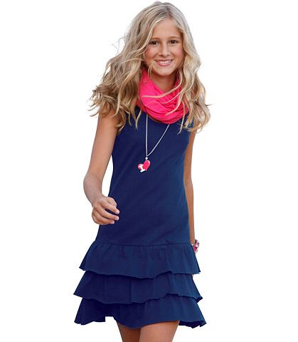 CFL платье с воланами