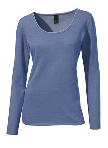 Пуловер с круглым вырезом Feinstrick