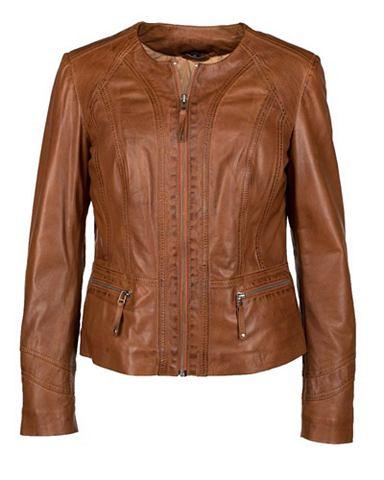 Куртка кожаная для женсщин »731-...