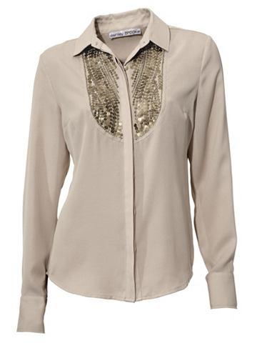 Блузка шифоновая с с пайетками