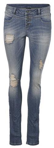 Узкие джинсы в Used-Look
