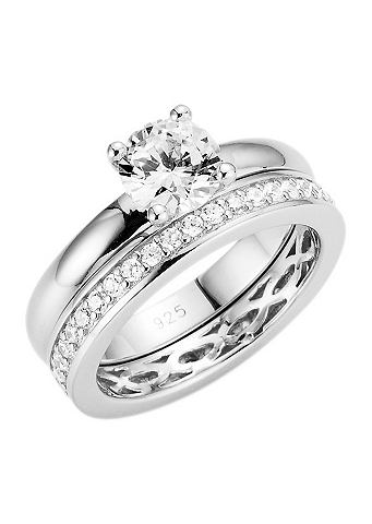 Набор украшений: кольцо с Zirkonia &ra...