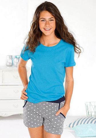 Пижама пижама с с узором брюки и unifa...