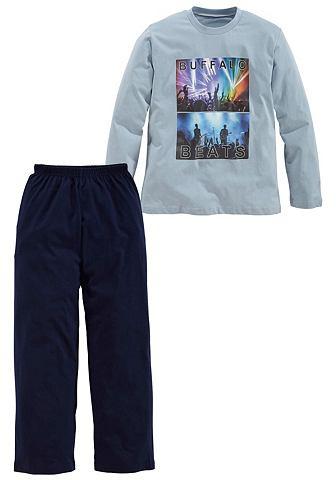 Langer из хлопка пижама с Fotodruck