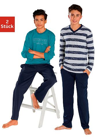 LE JOGGER Le брюки пижама длинa (2 единиц