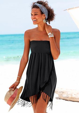 Платье с бахрома