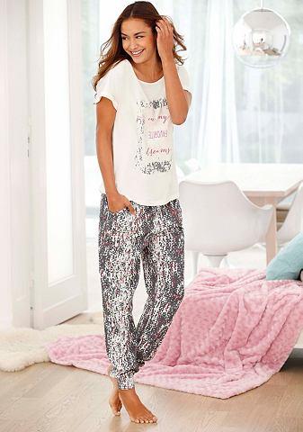 Пижама с legerer брюки & футболка ...