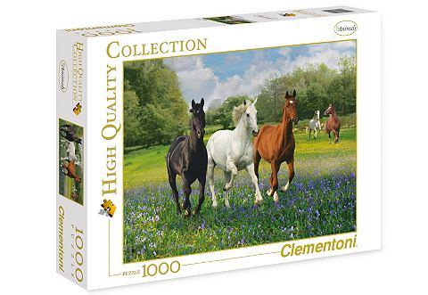 Пазл 1000 Teile »Pferde«