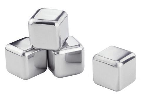 Набор кубиков льда из нержавеющей стал...