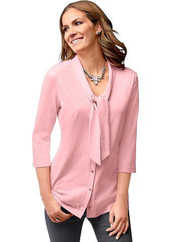 Блузка-футболка с 3/4 длина рукава