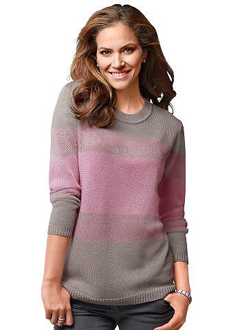 Пуловер в удобный Feinstrick-Qualit&au...