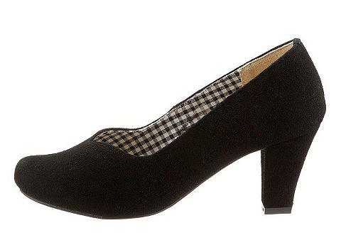 Туфли в сдержанный имитация