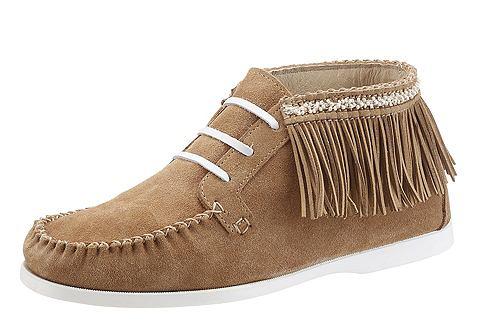 Ботинки в Indianer-Look с бахрома