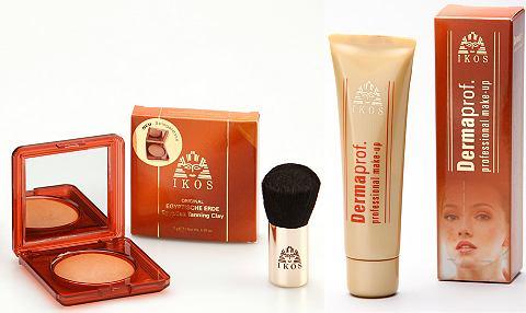 »Dermaprof. Make-up & Egyptische Erde« комплект с Kabuki-Pinsel