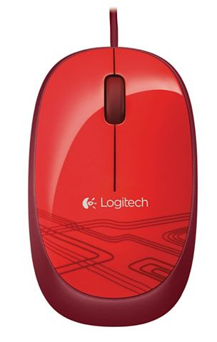 Maus »Mouse M105 Red - 910-00294...