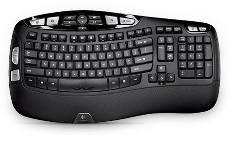 Tastatur »Wireless keyboard K350...