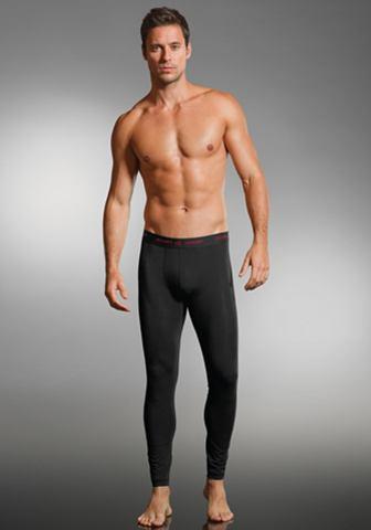 Long Leg брюки с мягкий Webbund