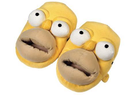 Тапочки в 3 размеры »The Simpson...