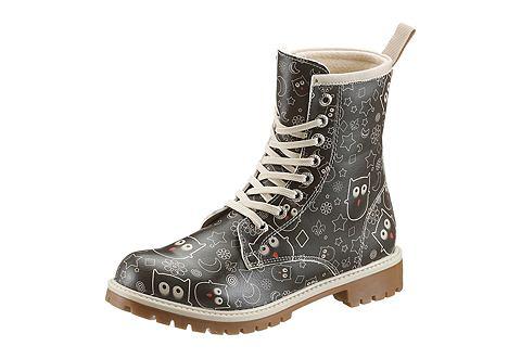 Ботинки со шнуровкой с Eulen-Druck
