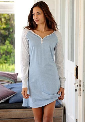 Softes ночная рубашка с длинa Raglan