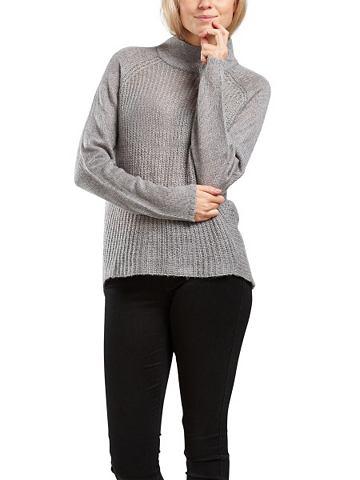 Hoher Halsausschnitt пуловер трикотажн...