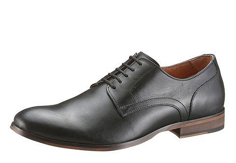 Деловой туфли на шнуровке