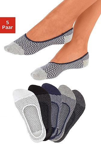Offene носки (5 пар) с узором