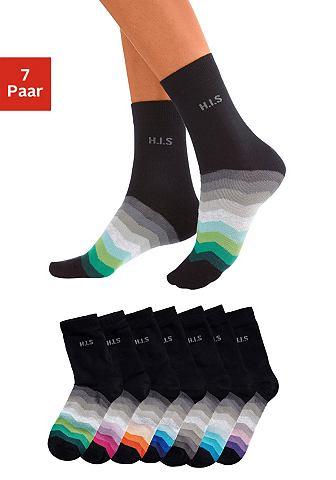 Basic носки (7 пар) с schwarzem Schaft...