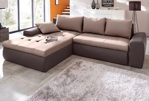 ; Kampinė sofa su miegojimo funkcija
